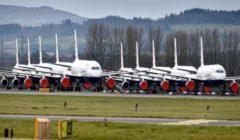 كورونا..أين توجد كل الطائرات غير المستخدمة الآن؟