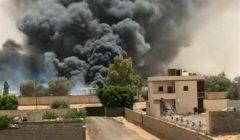 ليبيا: درون تركية تقصف شاحنة بيض جنوب بن وليد