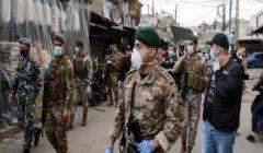 الجيش اللبناني يحذر من خرق حظر التجول ويدعو لالتزام المنازل