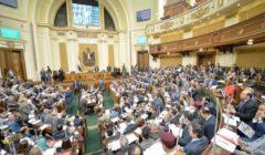 """ممر تعقيم وكمامات وقياس الحرارة.. البرلمان يبدأ جلسته وسط أجواء احترازية لمواجهة """"كورونا"""""""