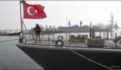 الجيش الليبي: بارجة تركية قصفت منطقة العجيلات بصواريخ من البحر