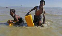 السلطات الماليزية تعترض قاربا يحمل 202 شخص من الروهينجا