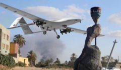 الجيش الليبي يسقط طائرتين مسيرتين تركيتين في طرابلس