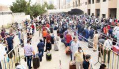 القبس الكويتية: حجر 9 آلاف مصري في مخيم كبد لحين سفرهم