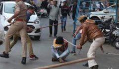 اشتباكات بالعصي بين الشرطة ورافضي الحجر الصحي في الهند | فيديو