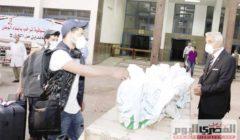 «مصحف وسجادة» هدية جامعة المنوفية للعائدين من الكويت