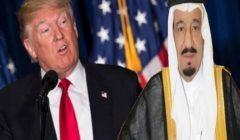 ترامب والعاهل السعودي يتفقان على أهمية استقرار أسواق النفط العالمية