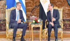 السيسى ورئيس وزراء اليونان يؤكدان رفض التدخل الخارجي في الأزمة الليبية