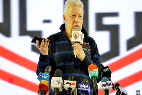 مرتضى منصور يوجه رسالة لمحمود الخطيب بشأن آل الشيخ