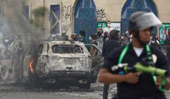 الاضطرابات في لوس أنجلوس.. فيديو يظهر إحراق وتدمير آليات الشرطة