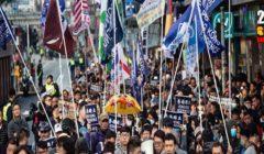 تغريم قادة النقابات العمالية في هونج كونج بسبب تنظيم مسيرة محدودة في عيد العمال