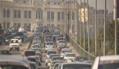 """""""زحمة قبل الفطار"""".. خريطة الكثافات في محاور القاهرة والجيزة"""