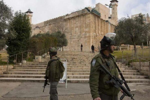 الاحتلال الإسرائيلي يمنع استكمال أعمال الترميم في الحرم الإبراهيمي