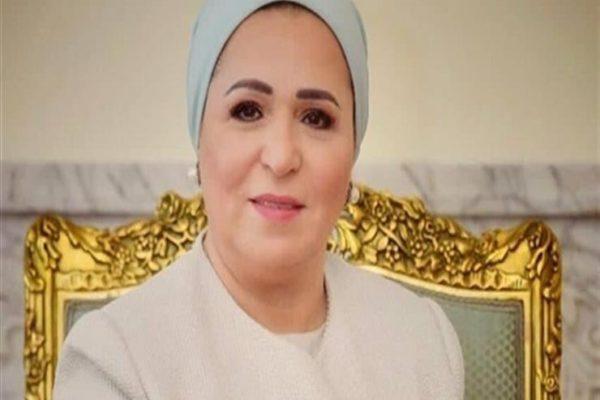 انتصار السيسي: أسأل الله أن يرفع البلاء عن مصر والعالم
