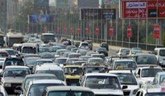 """""""زحمة قبل الفطار"""".. خريطة الاختناقات المرورية في محاور القاهرة والجيزة"""