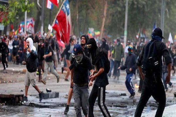 إطلاق النار على شرطي في تشيلي خلال احتجاج بسبب كورونا