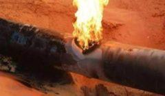 حريق أسفل كوبري حلمية الزيتون نتيجة انفجار ماسورة غاز.. والدفع بسيارات الإطفاء