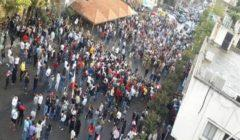 """متظاهرون يهاجمون مركز """"سي ان ان"""" في مدينة أتلانتا"""