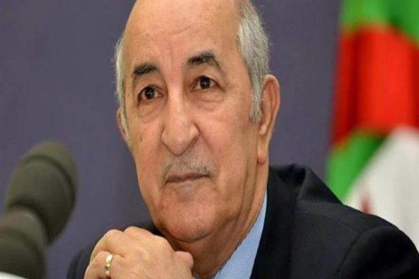 الرئيس الجزائري يؤكد ضرورة الالتزام بالحجر الصحي لمواجهة انتشار كورونا