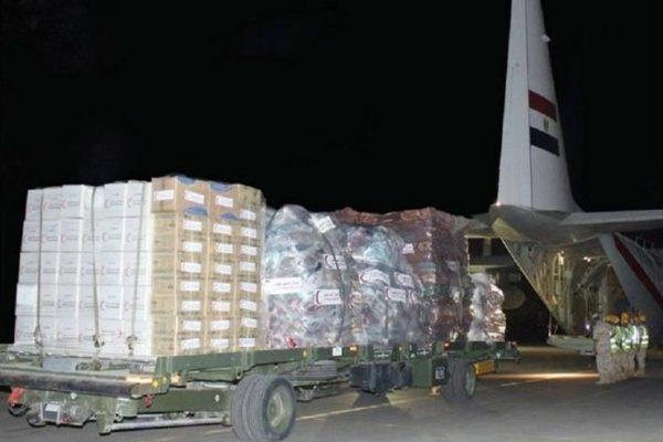 طائرة المساعدات الطبية المصرية الثانية تصل جنوب السودان - فيديو