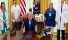 """ترامب يصف وباء كورونا بأنه """"هجوم أسوأ"""" من بيرل هاربر و11 سبتمبر"""
