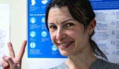 آثار المعركة ضد كورونا تظهر على وجوه الأطباء والتمريض بروسيا   صور