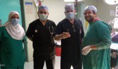 استخراج مشبك غسيل من مريء رضيع بمستشفى الأطفال التخصصي في بنها | صور
