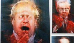 حزب العمال يعتذر بعد نشر صور بوريس جونسون ملطخة بالدماء |صور