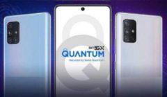سعر ومواصفات هاتف Galaxy A Quantum الجديد من سامسونج