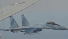 طائرتان روسيتان تعترضان طائرة استطلاع أميركية فوق المتوسط