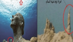 غواصة أمريكية ذهبت لاكتشاف موقع عـذاب قوم لوط فى البحر الميت وما وجدته فى قاع البحر كان مفاجئ !!