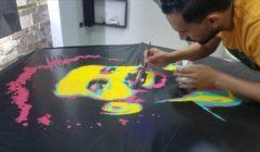 من المحن يُزهر الفن: «حسام» يرسم محمد صلاح على طائرته الورقية.. وفي انتظار منسي