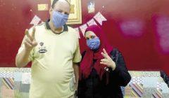 «ست بـ 100 راجل».. أسماء أنقذت زوجها بحجر منزلى «مشدد»