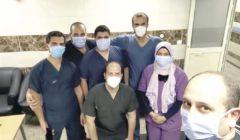 «مريم» ثاني طفلة لأم مصابة بـ«كورونا» فىيمستشفى عزل «قها» خلال 48 ساعة