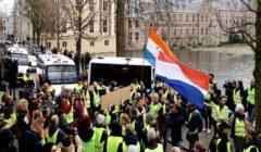 الشرطة الهولندية تقبض على 400 شخصا بعد احتجاج ضد قيود كورونا