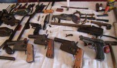 الأمن العام يضبط 189 قطعة سلاح ناري و186 قضية مخدرات