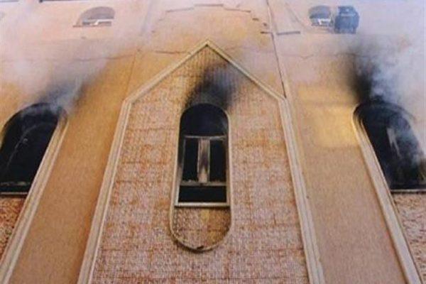 المتهمون بإقامة صلاة التراويح جماعة وحرق كنيسة كفر حكيم.. نشرة المحاكمات