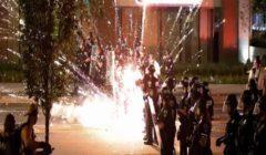 شرطة بورتلاند الأمريكية تصف الاحتجاجات بالمدينة بغير القانونية واضطراب مدني