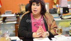 وزيرة الثقافة تنعى الدكتور حسين العزبي: ساحة التشكيل فقدت ساحر الصورة المسرحية