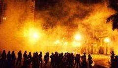 بعد الدفع ب_ ٢٠ سيارة إطفاء.. الحماية المدنية تسيطر على حريق سوق السيراميك بالمرج