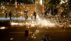 وفاة جورج فلويد: احتجاجات وأعمال عنف في مدن أمريكية رغم فرض حظر التجول