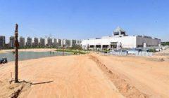 مسئولو الإسكان يتفقدون مشروع تطوير بحيرة عين الصيرة بالقاهرة