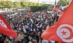 """""""عبدالناصر حيٌ في هتافاتهم"""".. احتجاجات في تونس ضد الإخوان والاستعمار التركي لليبيا (فيديو)"""