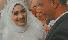 في حفل عائلي.. زفاف دينا عبد الله ومحمود شومان
