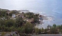 لحظات مرعبة لابتلاع بحر قرية بسكانها | فيديو