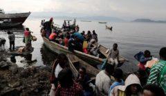 عشرات المفقودين بعد غرق قارب في بحيرة كيفو شرق الكونغو