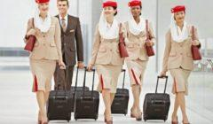 شركة طيران تطلب من المضيفات التوقف عن ارتداء الكمامات