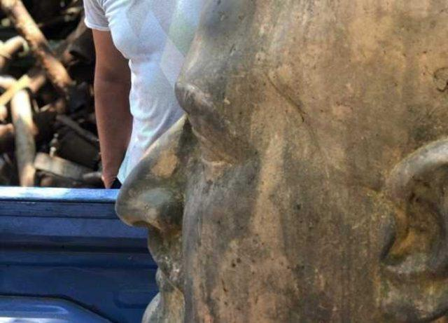 العثور على تمثال لـ «عبدالناصر» في مخازن هيئة القناة ببورسعيد يعود إلى عام 1963