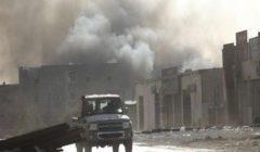 غارات جوية تستهدف منظومات الدفاع الجوي التركية بقاعدة الوطية الليبية