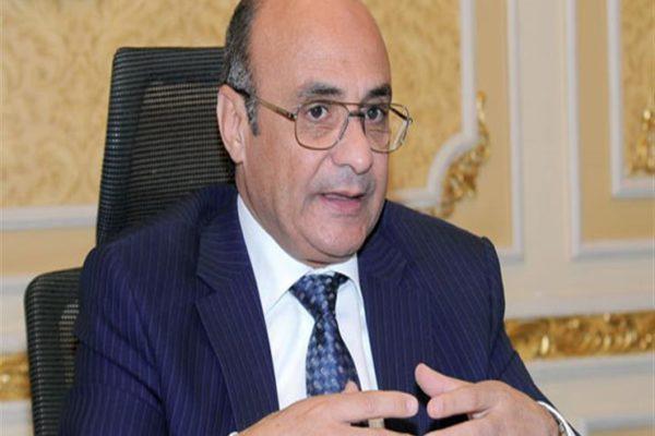 وزير العدل ينعي الفريق محمد العصار وزير الدولة للإنتاج الحربي